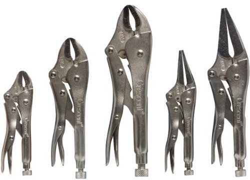 5-Piece Locking Plier Set