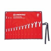 Heat Treated 15 Piece Metric Combination Wrench Sets