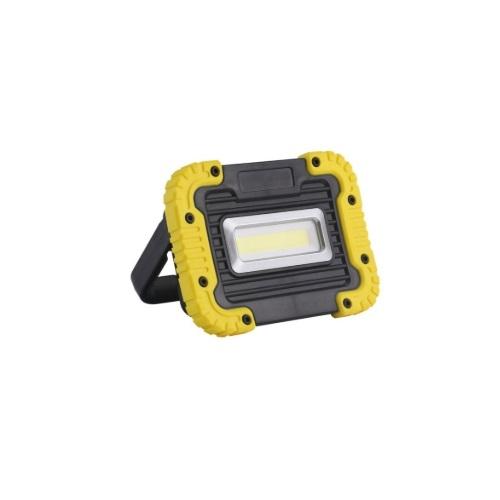 6W LED Portable LED Work Light, Cordless, 50W Hal. Retrofit, 500 lm, 6000K