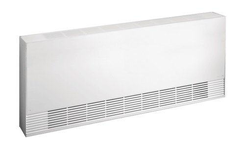 2400W Architecture Cabinet Heater CW1000, 208 V, Low Density, Front Air Outlet, Silica White