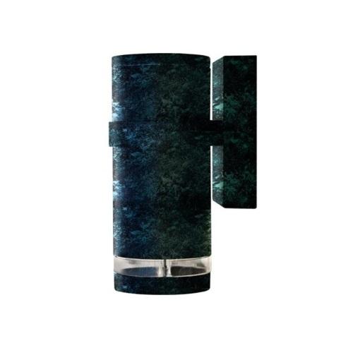 7W LED PAR20 Wall Sconce, 6000K, Verde Green