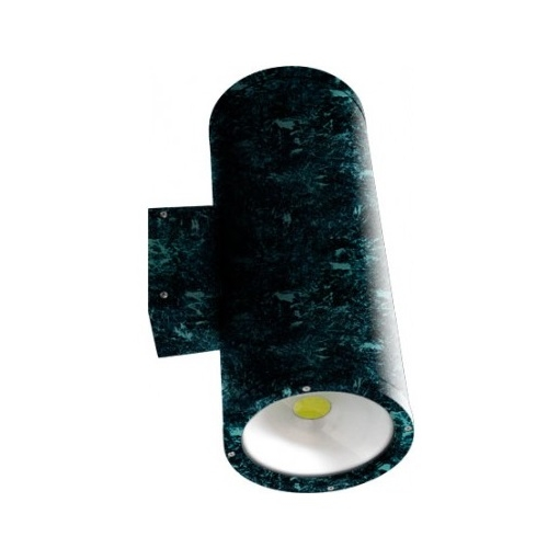 20W LED Wall Sconce, 2 Lamps, 2400 lm, 5000K, Verde Green