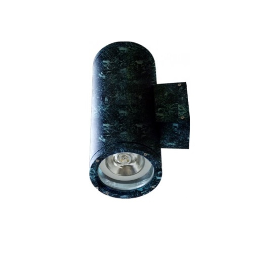 18W LED Wall Sconce, 2 Lamps, Flood, 2700K, Verde Green