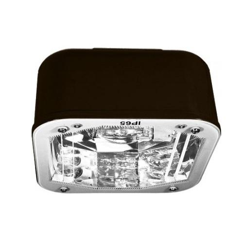 20W LED Medium Ceiling Fixture, G24, 3000K, Bronze