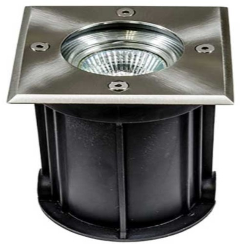 Dabmar Lighting LV310-LED7 7W In-Ground LED Well Light, Square Top, Stainless Steel