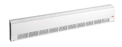1400W Aluminum Draft Barrier, Medium Density, 120 V, Silica White