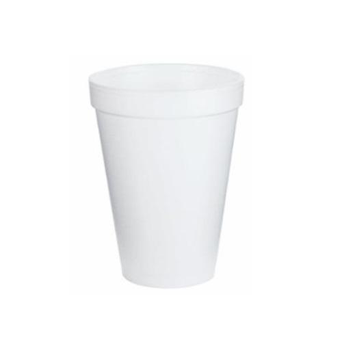 12oz Foam Cups, White