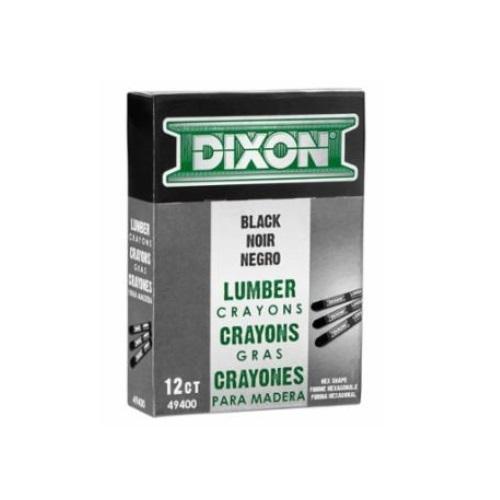 4.75-in Lumber Crayons, 0.5-in Diameter, Carbon Black