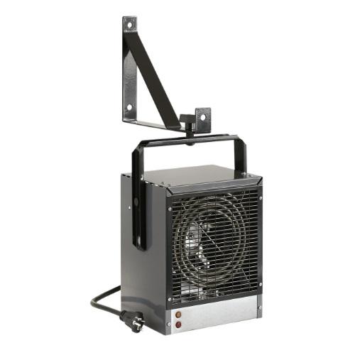 4000W Electric Space Heater, Fan-Forced, 13648 BTU/H, 240V, Grey