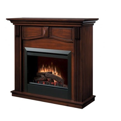 Dimplex 1375w 44 Holbrook Electric Fireplace Mantel Walnut