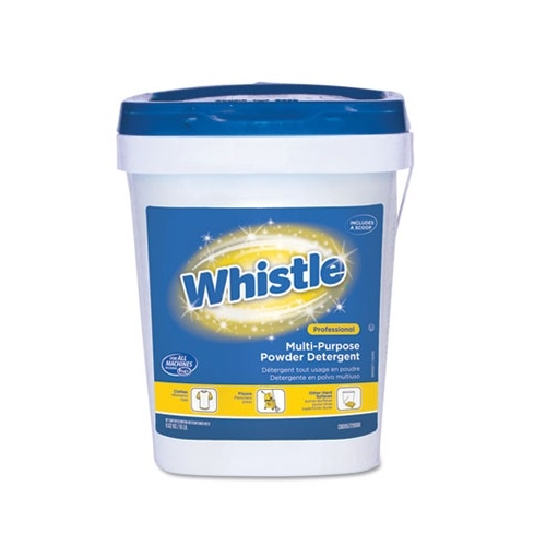 Diversey CBD95729888 Whistle Citrus Multi-Purpose Powder Laundry Detergent, 19lb Pail