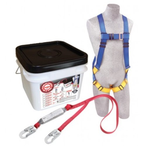 Compliance in a Can Roofers Kit, Light Blue