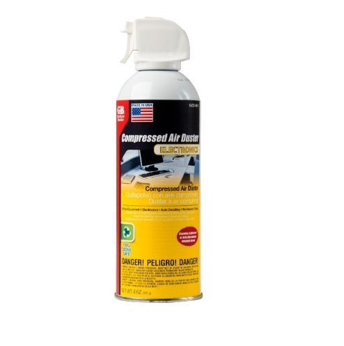 Compressed Air Duster, Ozone Safe, 8 OZ