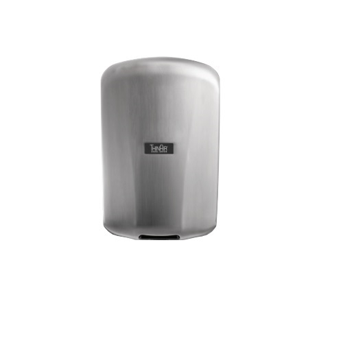 ThinAir Automatic Hand Dryer, Brushed Stainless Steel, Custom Image