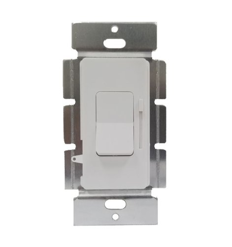 White Paddle Switch Single Pole & Three-Way LED Dimmer