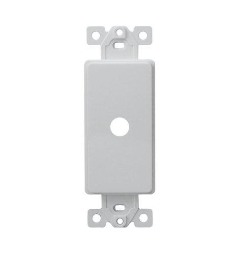 White 1-Gang Plasic Shaft Decorator Adapter Dimmer