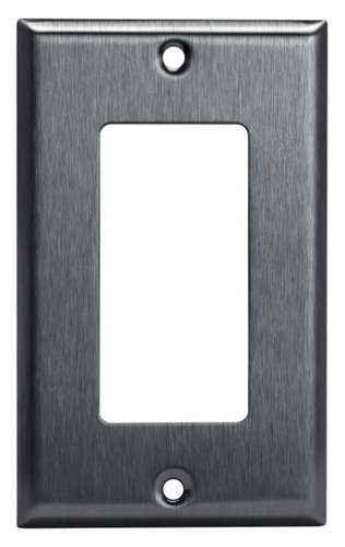 Stainless Steel 1-Gang Single GFCI Metal Wall Plate