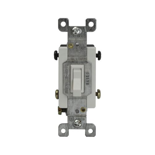Almond Four-Way Push-In and Side Wired 15A Toggle Switches