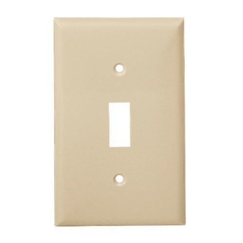 Enerlites Light Almond 1 Gang Toggle Switch Plastic Wall Plates Enerlites 8811 La Homelectrical Com