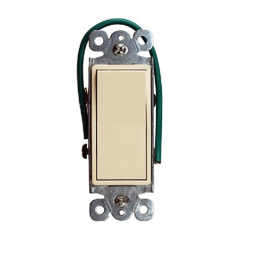 Ivory Residential Grade AC Quiet Decorator Four-Way Paddle Switch