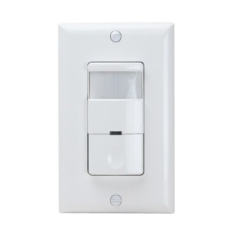 Enerlites DWOS-1277-W White Commercial Grade In-Wall Occupancy/Vacancy Sensor