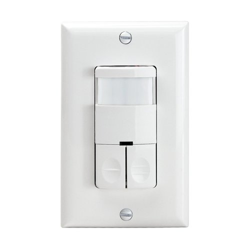 Enerlites White Commercial Grade In Wall Bi Level Occupancy Vacancy Sensor Enerlites Dwos Jd W Homelectrical Com