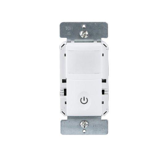 Enerlites White Single Pole Neutral Wire Occupancy Sensor