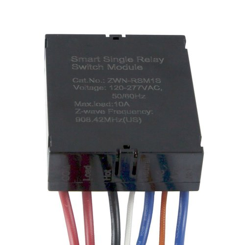 Z-Wave Plastic Smart Meter Dual Relay Switch Module
