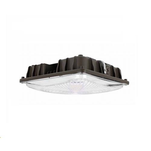 60W LED Canopy Light Fixture, 250W MH Retrofit, 120-277V, 8062 lm, 5000K