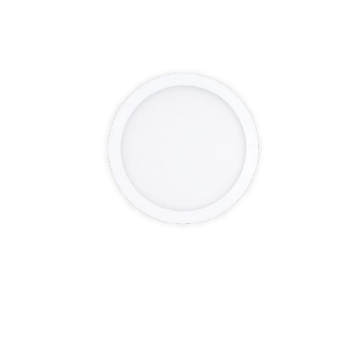 15W 7-in Round LED Decorative Disk Light w/Battery Backup, Dimmable, 900 lm, 3000K, White