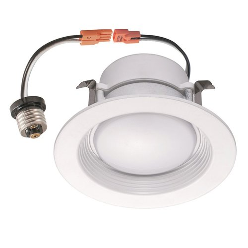 eti lighting 5000k 10w 625lm 4 recessed dimmable led downlight eti