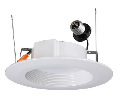 11W, 4000K, 5/6 Inch Dimmable Recessed LED Downlight, 670Lm