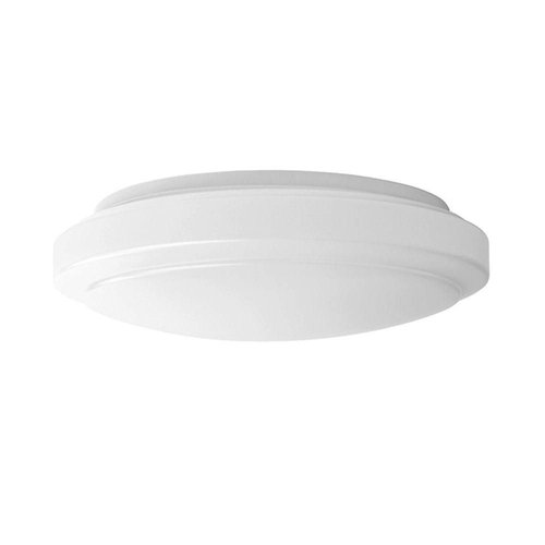 14W 12 Inch Reva Round LED Flushmount Ceiling Fixture, Dimmable, 4000K