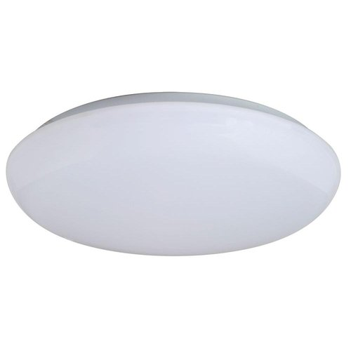 Low-Profile, 4000K, 22W 16 In Round LED Flushmount Ceiling Fixture