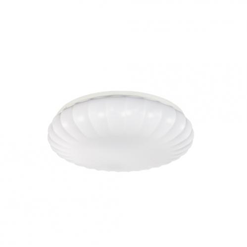 """New 7 Round Led Flush Mount Ceiling Light 4000k Kitchen: ETI 14W 11"""" Round LED Flush Mount Ceiling Fixture"""