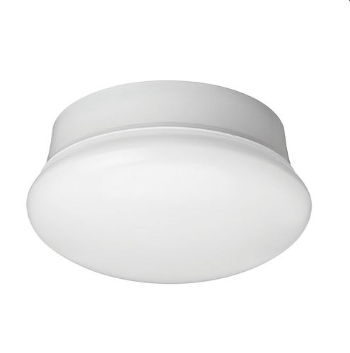 11.5W 7 Inch LED Spin Light Ceiling Fixture, 4000K