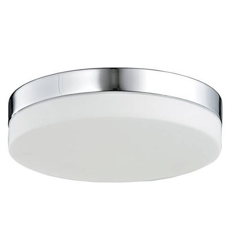 22W 15 Inch I-Series Round LED Flushmount Ceiling Fixture, Dimmable, 4000K
