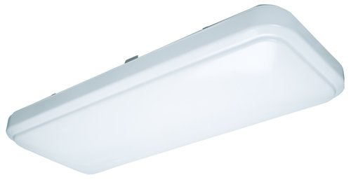 20W 1 X 2 Linear LED Flushmount Ceiling Fixture, Dimmable, 4000K
