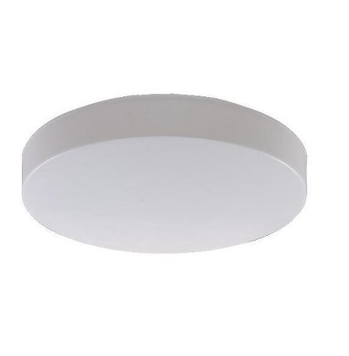 11.5W 7 In Architectural Low-Profile LED Flushmount Ceiling Fixture, 4000K