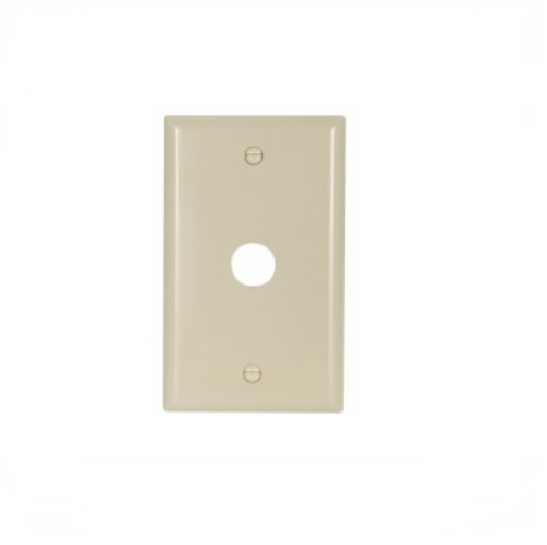 Excellent Eaton 1 Gang Thermoset Standard Telephone Coaxial Wallplate Ivory Wiring 101 Swasaxxcnl