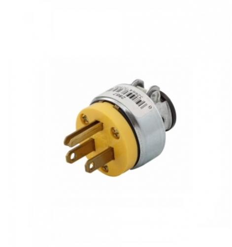 15 amp circuit wiring eaton 15 amp electric plug  armored vinyl  black  eaton 2867  eaton 15 amp electric plug  armored