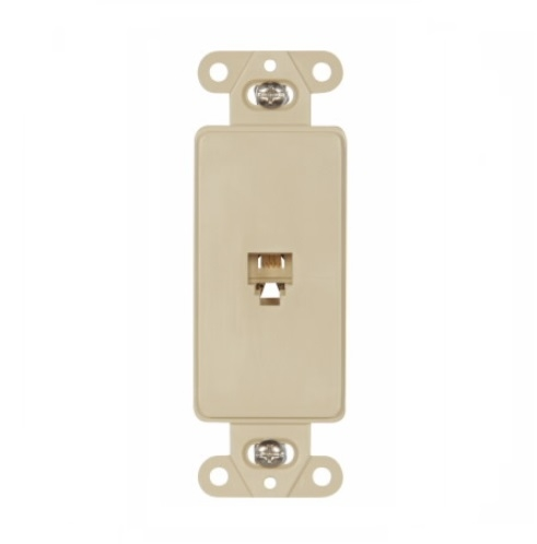 Eaton 4-Conductor Phone Jack Insert, RJ14, Ivory on wall phones, phone jack thermostat, microphone wiring, telephone jack installation, phone jack installation, phone jack diagram, phone wire, phone jack terminations, phone cord, wireless phone jack, home wiring, phone jack dimensions, phone line, install telephone wiring, phone jacks types, phone jack colors, phone jack lighting, telephone jacks, speaker jacks, dryer wiring, light switch wiring, phone jack outlet, car stereo wiring, phone jack voltage, phone problem, phone cable, phone repair, telephone wiring, phone connection, phone box, phone plug, phone jack for wall, outlet wiring, phone jack electrical,