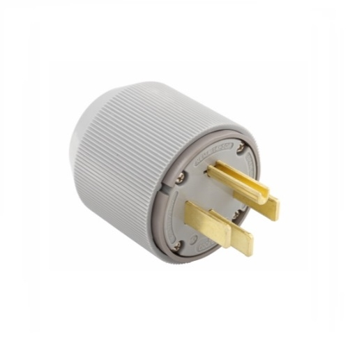 Eaton Wiring 50 Amp Dryer Plug Angled Nema 14 50p Grey Eaton Wiring 5745n Homelectrical Com