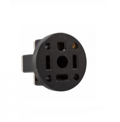 60 amp nema 14-60r 125v-250v panel mount power receptacle