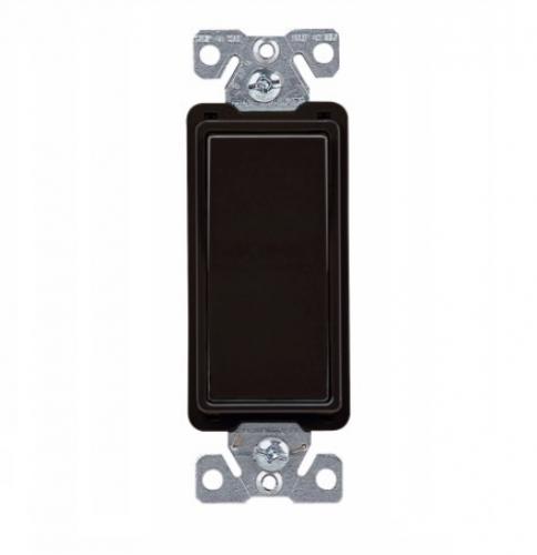 eaton wiring 7504bk  15 amp 4-way rocker switch, black