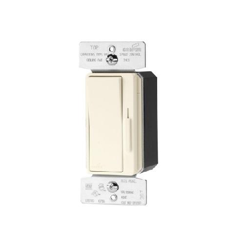 1.5 Amp 3-Speed Fan Control w/Preset, 120V, Light Almond