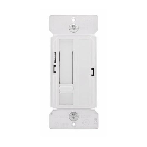 5 Amp Slide Fan Speed Control, White