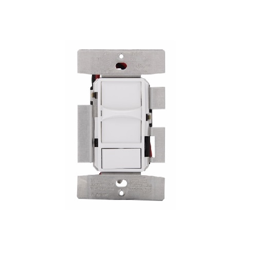Cooper Wiring Devices Eaton SUF7-V Universal Phase Selectable Slide dimmer Ivory