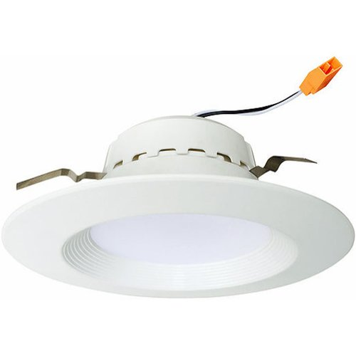Euri lighting 4000k 13w 800lm 4 in fixed recessed led retrofit kit fixed recessed led retrofit kit downlight aloadofball Choice Image