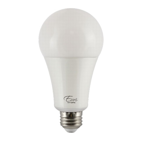 22W LED A21 Bulb, Omni-Directional, 150W Inc. Retrofit, Dim, E26 Base, 2550 lm, 2700K